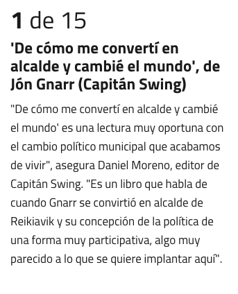 Prensa - Capitán Swing