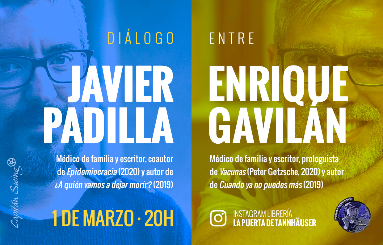 Diálogo entre Javier Padilla y Enrique Gavilán en La Puerta de Tannhäuser