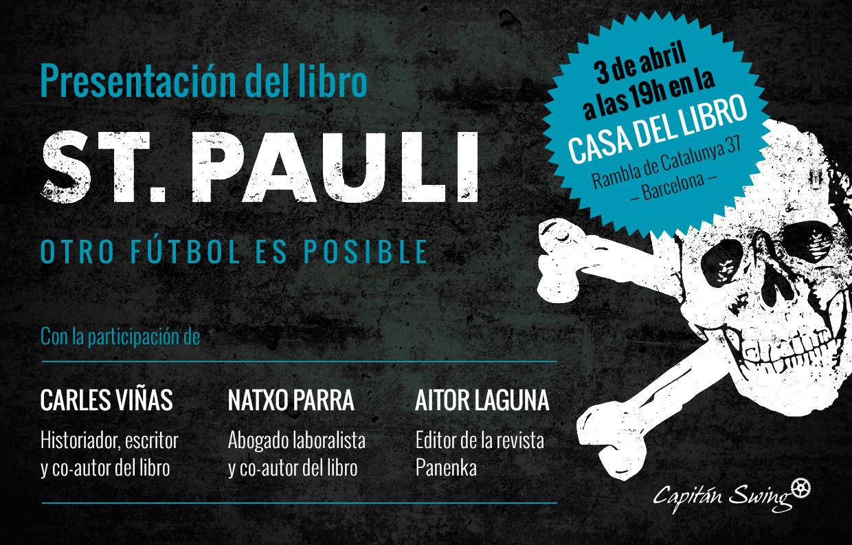 Presentaci n de st pauli en barcelona capit n swing - Casa del libro barcelona rambla catalunya ...